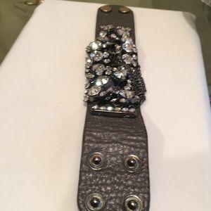 Jewelry - Cuff stone bracelet